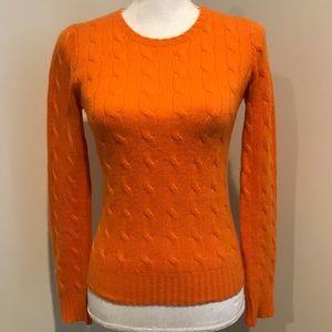 Ralph Lauren - Orange Cashmere Sweater